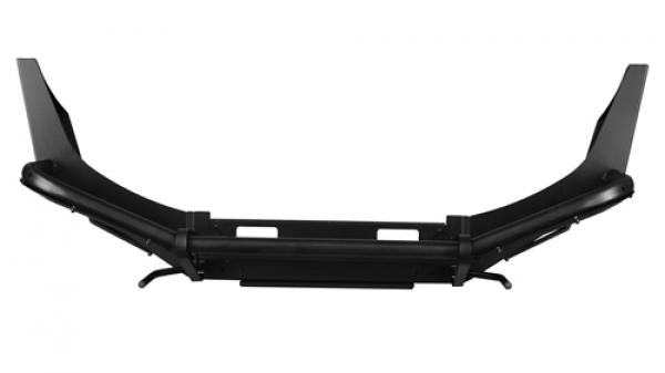 Передний силовой бампер, на а/м УАЗ Патриот, с площадкой лебёдки OJ 02.001.13