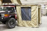 Комплект из стенок с дверью и окном для компактного автомобильного навеса (маркизы) СТОКРАТ STO TN-AW2520