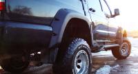 Комплект расширителей арок на УАЗ Пикап, дорестайлинг, полный