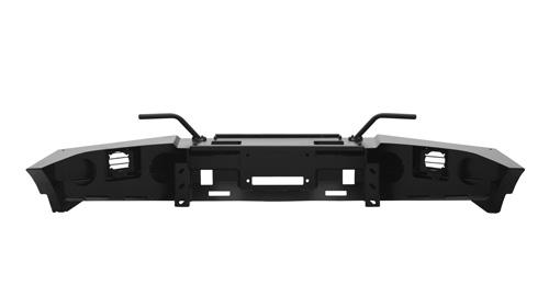 Передний силовой бампер, на а/м УАЗ Патриот, с площадкой лебёдки OJ 02.003.23