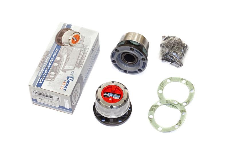 Колесные муфты (хабы) AVM-450HP для Ssang Yong Musso, Korando II, Rexton; TAGAZ Tager, RoadPartner