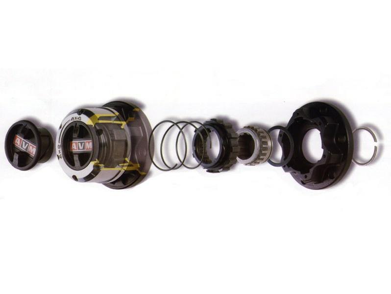 Комплект усиленных колесных муфт (хабов) AVM-433 Isuzu Trooper II, Jackaroo / Opel Monterey)