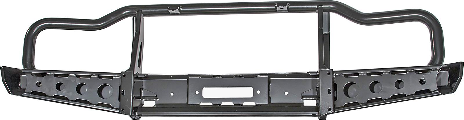 Бампер РИФ передний УАЗ Буханка универсальный усиленный с низким кенгурином