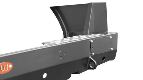 Задний силовой бампер, на а/м УАЗ Патриот, под лебёдку OJ 03.104.01