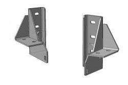 Комплект кронштейнов под кузов с лифтом 50мм OJ 10.004.01
