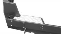 Задний силовой бампер, на а/м УАЗ Патриот, с калиткой, под лебёдку, OJ 03.104.03