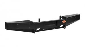 Передний силовой бампер, на а/м УАЗ Хантер, с площадкой лебёдки OJ 02.203.01 (лифт)