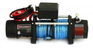 Лебёдка электрическая высокоскоростная 12V Runva 9500 lbs 4350 кг (кевлар)