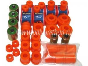 Комплект сайлентблоков и подушек для УАЗ-3163 («Патриот») комплектации 2005-2006 годов.