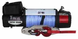 Лебедка HEW-9500 T-MAX X-Power 12 В (синтетический трос)