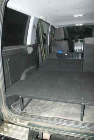 Полка в багажник УАЗ Патриот