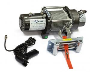 Лебедка электрическая автомобильная СТОКРАТ SD 8.0 SSW 12V, 5.5