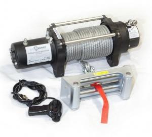 Лебедка электрическая автомобильная СТОКРАТ HD 12.5 WP, 12V, 6.8 л.с.