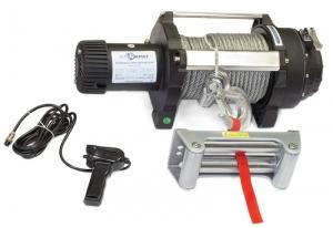 Лебедка электрическая индустриальная СТОКРАТ HD 18.5 WP24, 24V, 6.0 л.с.