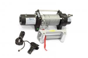Лебедка электрическая автомобильная СТОКРАТ HD 9.5 WP24, 24V, 5.5 л.с.
